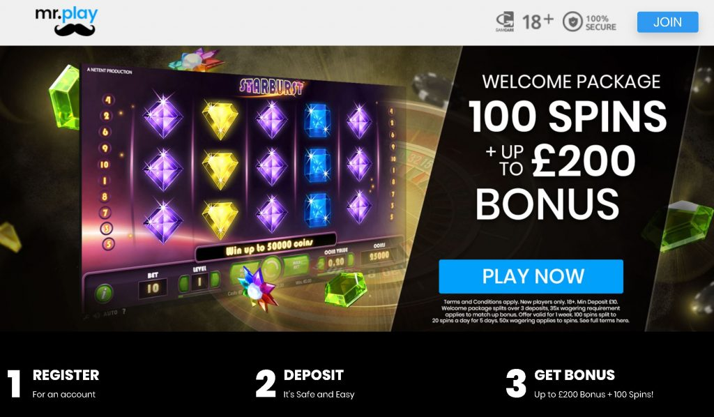 Mr Play Free Spins