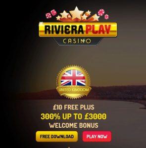 Riviera casino sign-up bonus