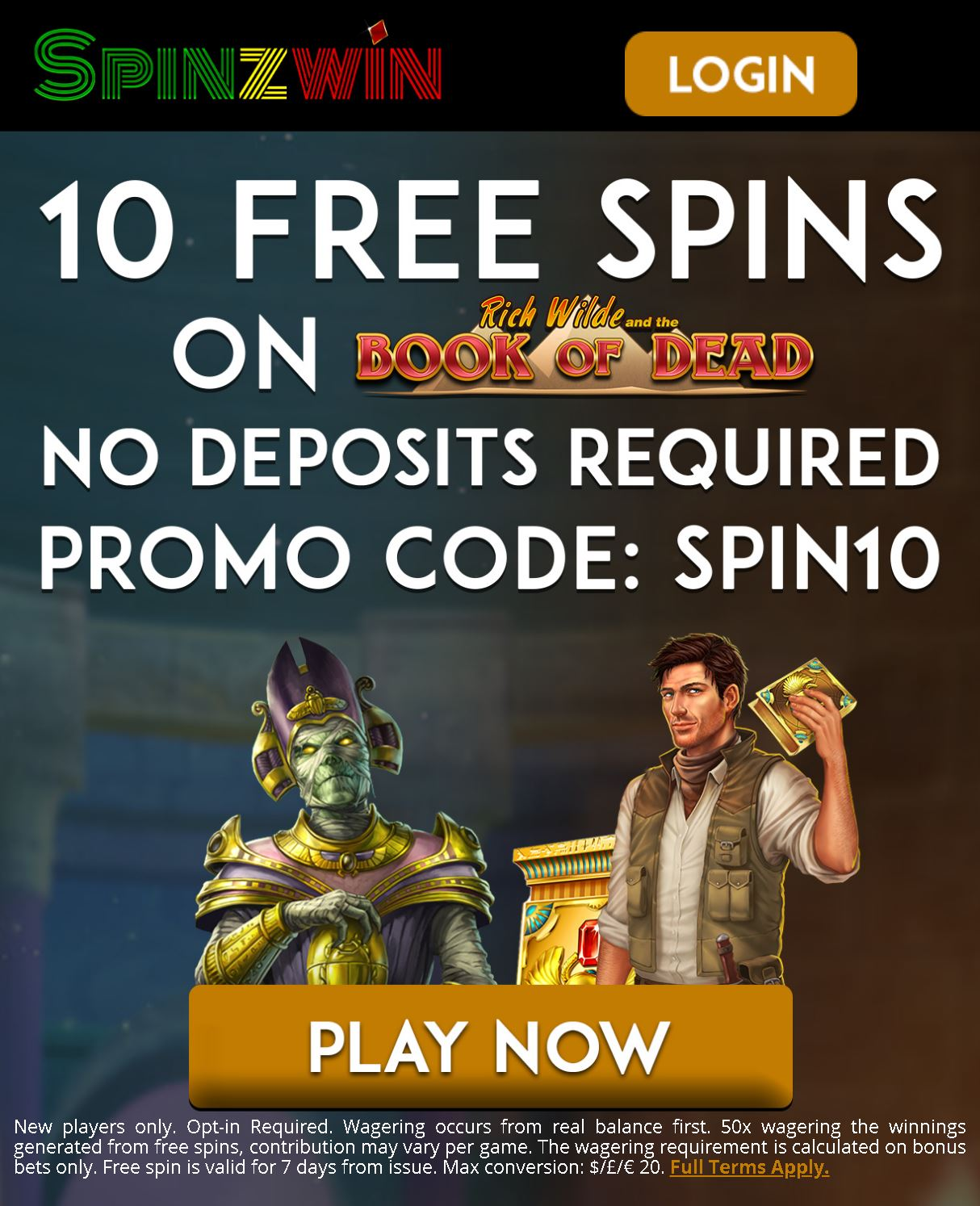 Spinzwin casino no deposit