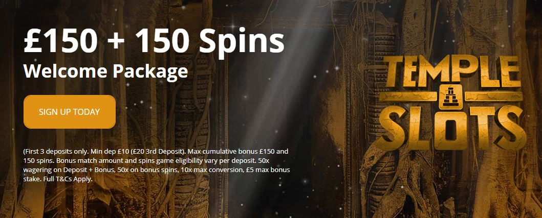 Temple slots free spins