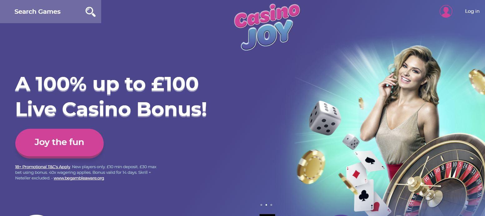 Casino joy live promo code