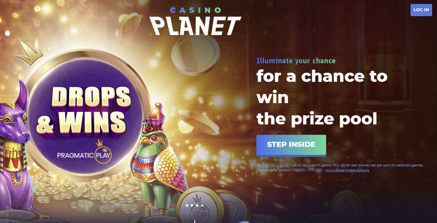 CasinoPlanet bonuses